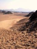 Wüste, Ägypten Lizenzfreie Stockfotos