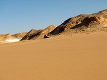Wüste in Ägypten lizenzfreies stockfoto