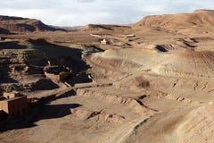 Wüste in Afrika Lizenzfreies Stockbild