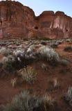 Wüste, Bögen N.P., Utah Stockfotografie