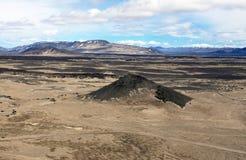 Wüste in der Askja-Region Lizenzfreie Stockfotografie