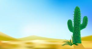 Wüste landscabe Hintergrund vektor abbildung