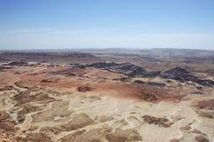 Wüste Negev, Israel. Lizenzfreies Stockbild