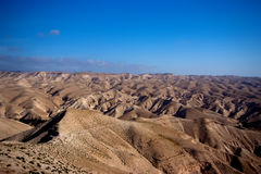 Wüste Negev in Israel Stockfotografie