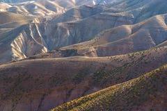Wüste Negev in Israel Stockbild