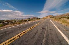 Wüste Road Stockfotografie