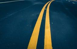 Wüste Road Lizenzfreie Stockbilder