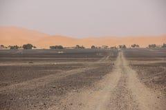 Wüste Road Stockfoto