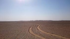 Wüste Road Stockbild