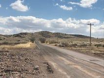 Wüste Road Stockbilder