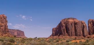 Wüste südwestlich der USA Abnutzung des Sandsteins schaukelt in das malerische Monument-Tal, Arizona stockfoto