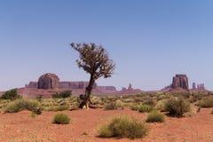 Wüste südwestlich der USA Abnutzung des Sandsteins schaukelt in das malerische Monument-Tal, Arizona lizenzfreie stockbilder