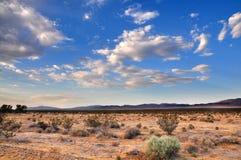 Wüste Skyscape Lizenzfreie Stockfotos