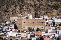 Wüste von Tabernas lizenzfreie stockfotos