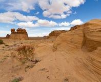 Wüste von Utah Stockfotografie