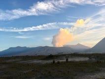 Wüste zu Bromo Lizenzfreies Stockfoto