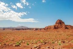 Wüsten-Ansicht Stockbild