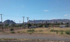 Wüsten-Ansicht Lizenzfreies Stockfoto