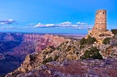 Wüsten-Ansicht-Wachturm Stockfotografie