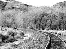 Wüsten-Bahnen Stockfoto