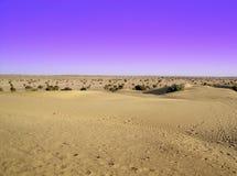 Wüsten-Blau Stockfotos