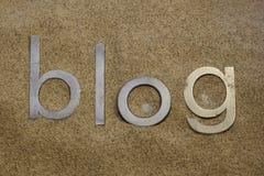 Wüsten-Blog Lizenzfreie Stockfotografie