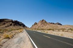 Wüsten-Datenbahn stockbilder
