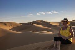 Wüsten-Fotografie Lizenzfreies Stockbild