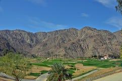 Wüsten-Golf Lizenzfreie Stockfotos