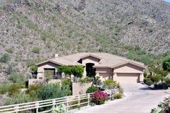 Wüsten-Haus Stockfoto