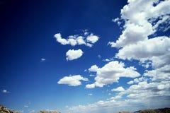 Wüsten-Himmel stockbild