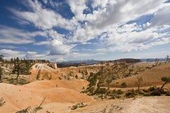 Wüsten-Himmel Lizenzfreie Stockfotos