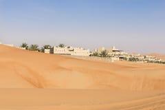 Wüsten-Hotel, Abu Dhabi Stockbild