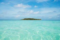 Wüsten-Insel Lizenzfreies Stockbild