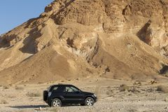 Wüsten-Jeep Stockfoto