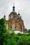 Wüsten Kasans Amvrosievsky (am shamordino Kloster in Kaluga-Region von Russland Lizenzfreies Stockfoto