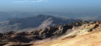 Wüsten-Landschaft Stockfoto