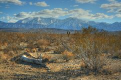 Wüsten-Landschaft Stockbild