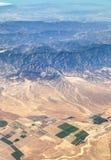 Wüsten-Landwirtschaft in Kalifornien Lizenzfreies Stockfoto