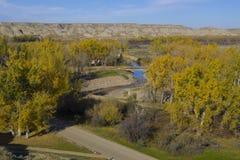 Wüsten-Nebenfluss-Park Stockfotografie