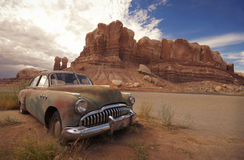 Wüsten-Relikt Stockfoto