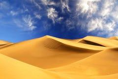Wüsten-Sanddünen Lizenzfreies Stockfoto