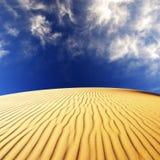Wüsten-Sanddünen Lizenzfreie Stockfotografie