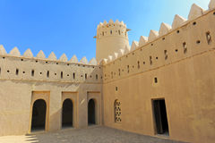 Wüsten-Schloss lizenzfreies stockbild