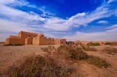 Wüsten-Schloss/Qusayr Amra Lizenzfreie Stockbilder