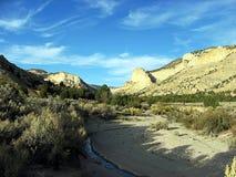 Wüsten-Schlucht stockbilder