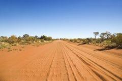 Wüsten-Straße Stockbilder