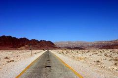 Wüsten-Straße Stockbild