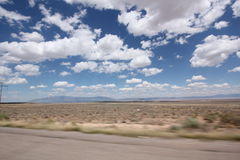 Wüsten-Straße in Arizona II Lizenzfreie Stockfotografie