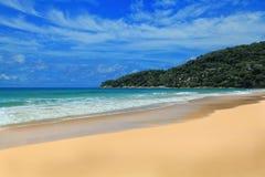 Wüsten-tropische Insel Lizenzfreies Stockbild